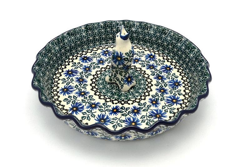 Ceramika Artystyczna Polish Pottery Pie Set - Blue Chicory S63-976a (Ceramika Artystyczna)