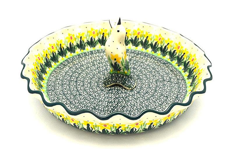 Ceramika Artystyczna Polish Pottery Pie Set - Daffodil S63-2122q (Ceramika Artystyczna)