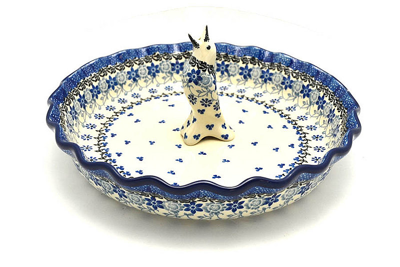 Ceramika Artystyczna Polish Pottery Pie Set - Silver Lace S63-2158a (Ceramika Artystyczna)