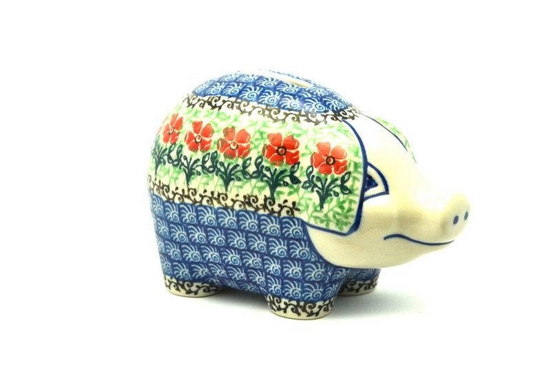 Ceramika Artystyczna Polish Pottery Piggy Bank - Maraschino 155-1916a (Ceramika Artystyczna)