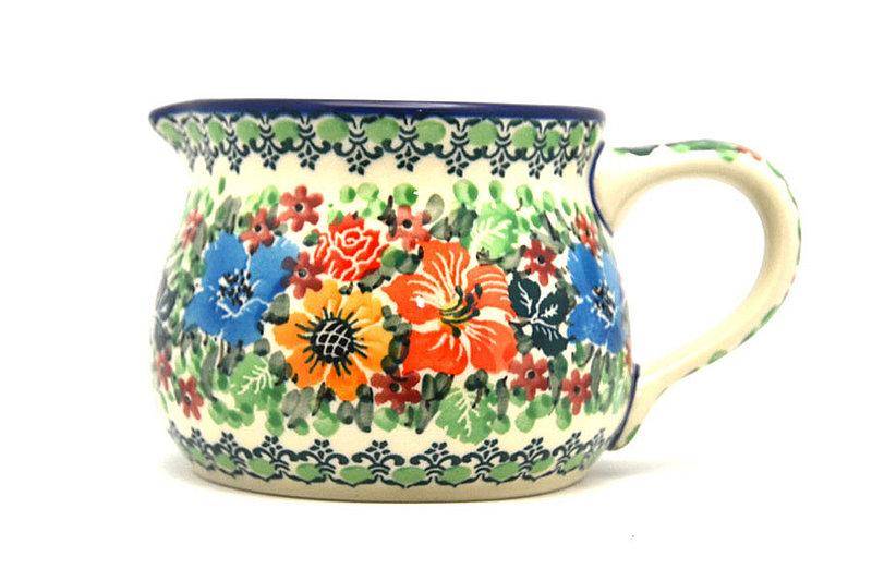 Ceramika Artystyczna Polish Pottery Pitcher - 15 oz. - Unikat Signature - U3347 009-U3347 (Ceramika Artystyczna)