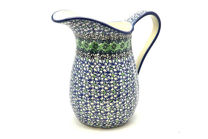 Ceramika Artystyczna Polish Pottery Pitcher - 2 pint - Kiwi B35-1479a (Ceramika Artystyczna)