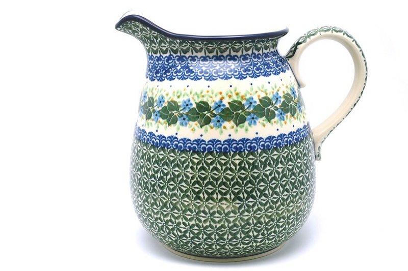 Ceramika Artystyczna Polish Pottery Pitcher - 2 quart - Ivy Trail 082-1898a (Ceramika Artystyczna)