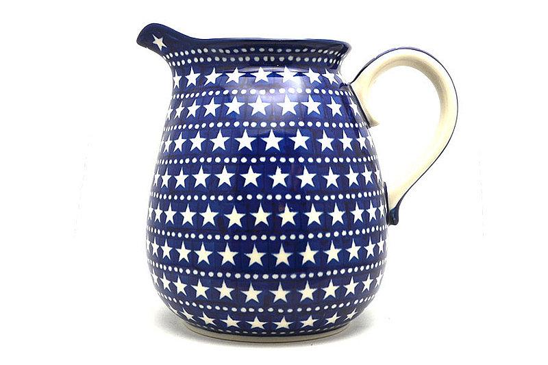 Ceramika Artystyczna Polish Pottery Pitcher - 2 quart - Starlight 082-0119a (Ceramika Artystyczna)