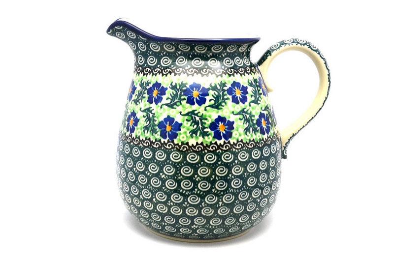 Ceramika Artystyczna Polish Pottery Pitcher - 2 quart - Sweet Violet 082-1538a (Ceramika Artystyczna)