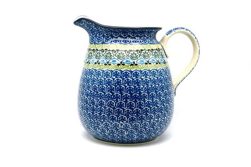 Ceramika Artystyczna Polish Pottery Pitcher - 2 quart - Tranquility 082-1858a (Ceramika Artystyczna)