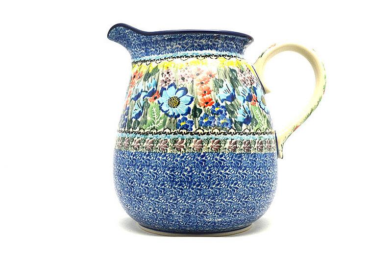 Ceramika Artystyczna Polish Pottery Pitcher - 2 quart - Unikat Signature U4558 082-U4558 (Ceramika Artystyczna)