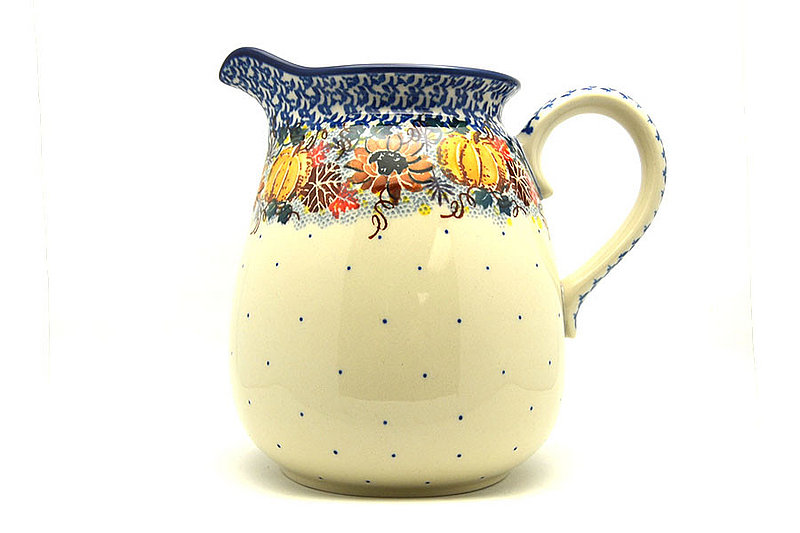 Ceramika Artystyczna Polish Pottery Pitcher - 2 quart - Unikat Signature U4741 082-U4741 (Ceramika Artystyczna)