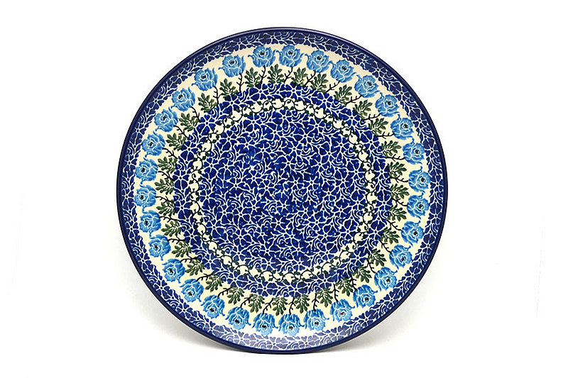 "Ceramika Artystyczna Polish Pottery Plate - 10"" Dinner - Antique Rose 257-1390a (Ceramika Artystyczna)"
