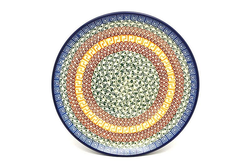 "Ceramika Artystyczna Polish Pottery Plate - 10"" Dinner - Autumn 257-050a (Ceramika Artystyczna)"