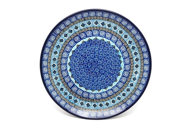 "Ceramika Artystyczna Polish Pottery Plate - 10"" Dinner - Aztec Sky 257-1917a (Ceramika Artystyczna)"