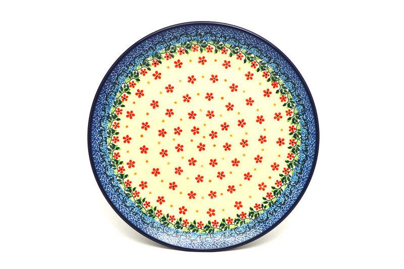 "Ceramika Artystyczna Polish Pottery Plate - 10"" Dinner - Cherry Jubilee 257-2284a (Ceramika Artystyczna)"