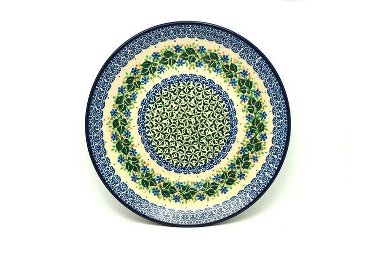 "Ceramika Artystyczna Polish Pottery Plate - 10"" Dinner - Ivy Trail 257-1898a (Ceramika Artystyczna)"