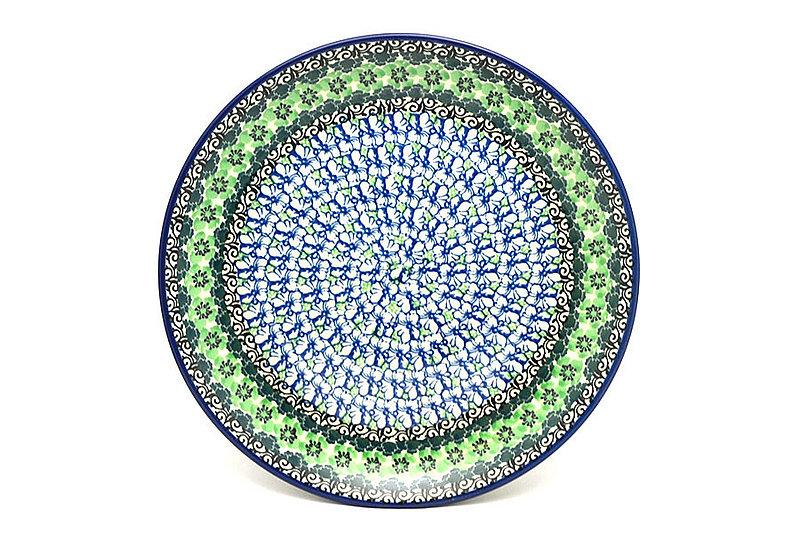 "Ceramika Artystyczna Polish Pottery Plate - 10"" Dinner - Kiwi 257-1479a (Ceramika Artystyczna)"