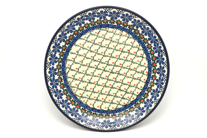 "Ceramika Artystyczna Polish Pottery Plate - 10"" Dinner - Primrose 257-854a (Ceramika Artystyczna)"