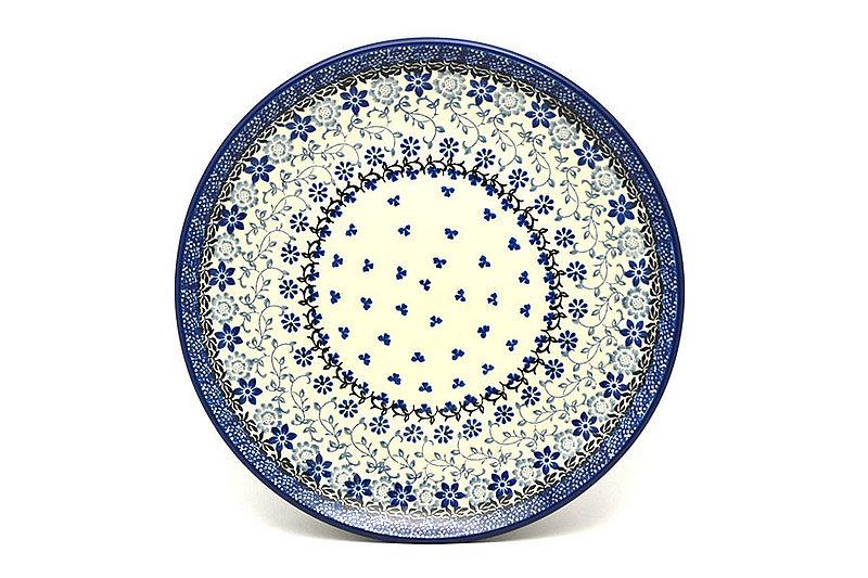 "Ceramika Artystyczna Polish Pottery Plate - 10"" Dinner - Silver Lace 257-2158a (Ceramika Artystyczna)"