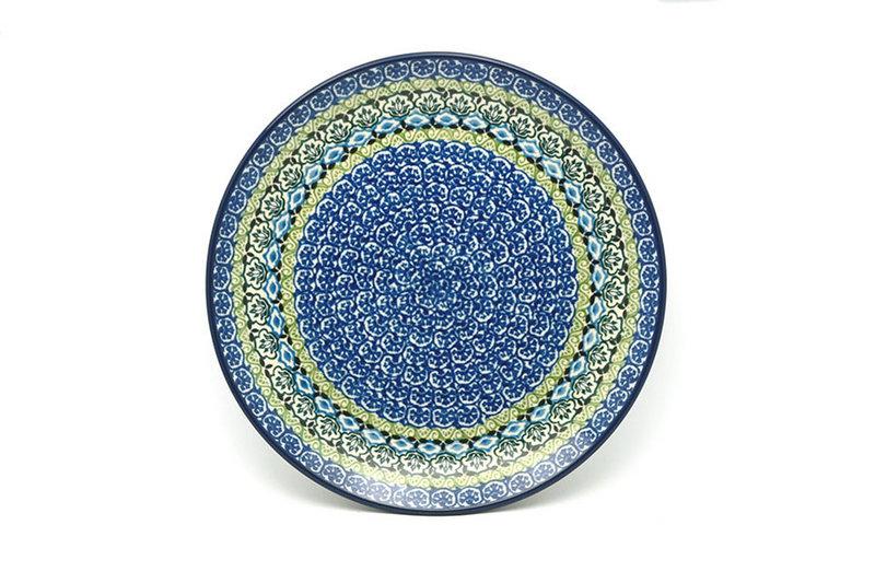 "Ceramika Artystyczna Polish Pottery Plate - 10"" Dinner - Tranquility 257-1858a (Ceramika Artystyczna)"