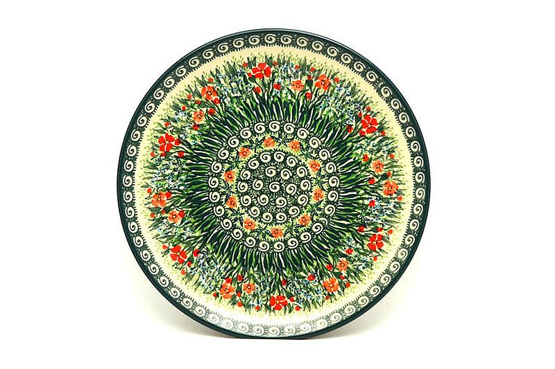 "Ceramika Artystyczna Polish Pottery Plate - 10"" Dinner - Unikat Signature - U4336 257-U4336 (Ceramika Artystyczna)"