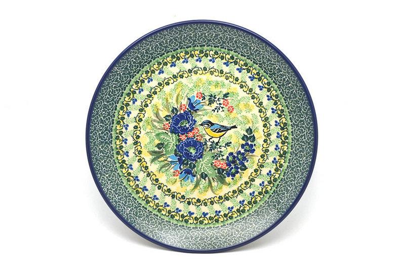 "Ceramika Artystyczna Polish Pottery Plate - 10"" Dinner - Unikat Signature - U4419 257-U4419 (Ceramika Artystyczna)"