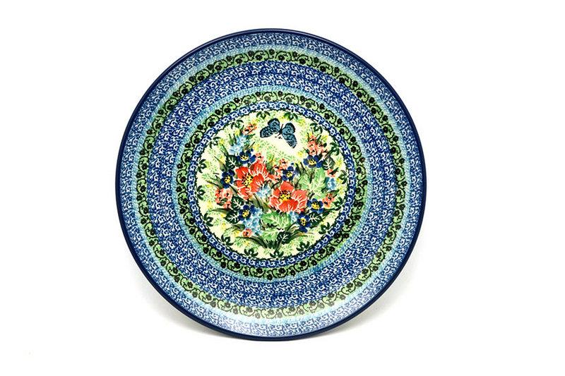 "Ceramika Artystyczna Polish Pottery Plate - 10"" Dinner - Unikat Signature - U4553 257-U4553 (Ceramika Artystyczna)"
