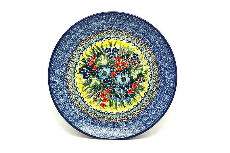 "Ceramika Artystyczna Polish Pottery Plate - 10"" Dinner - Unikat Signature - U4558 257-U4558 (Ceramika Artystyczna)"