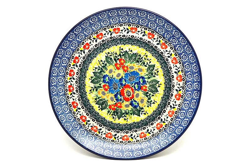 "Ceramika Artystyczna Polish Pottery Plate - 10"" Dinner - Unikat Signature - U4578 257-U4578 (Ceramika Artystyczna)"
