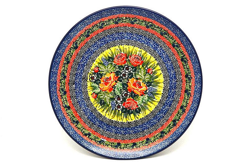 "Ceramika Artystyczna Polish Pottery Plate - 10"" Dinner - Unikat Signature - U4616 257-U4616 (Ceramika Artystyczna)"
