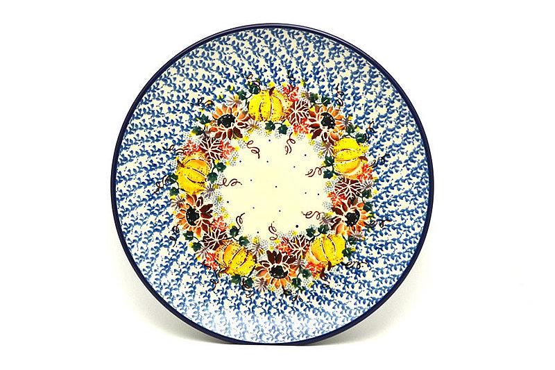 "Ceramika Artystyczna Polish Pottery Plate - 10"" Dinner - Unikat Signature - U4741 257-U4741 (Ceramika Artystyczna)"