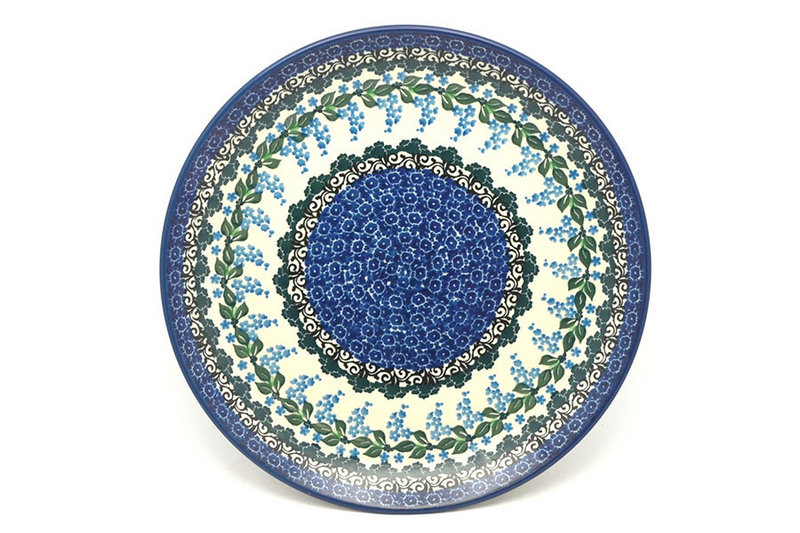 "Polish Pottery Plate - 10"" Dinner - Wisteria"