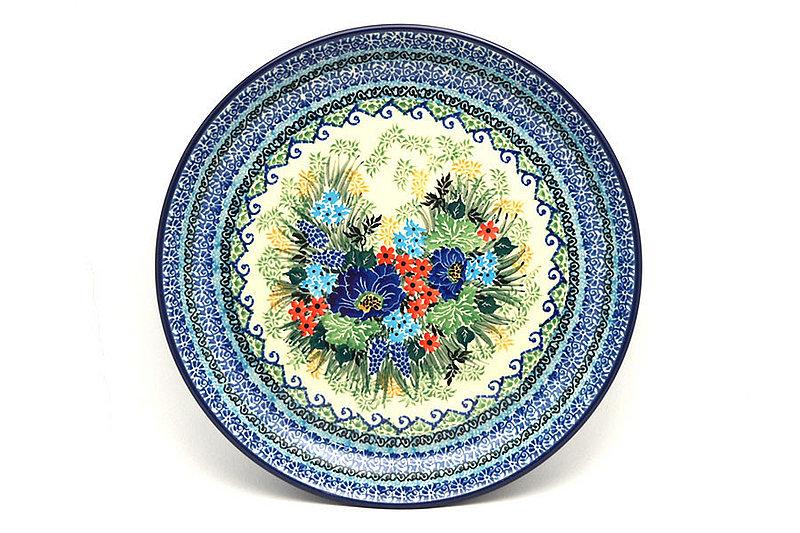 "Ceramika Artystyczna Polish Pottery Plate - 9 1/2"" Luncheon - Unikat Signature U4695 302-U4695 (Ceramika Artystyczna)"