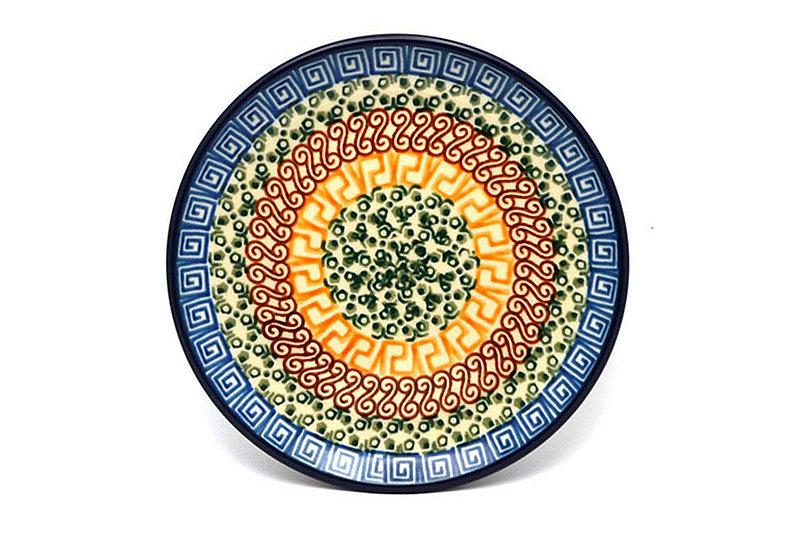 "Ceramika Artystyczna Polish Pottery Plate - Bread & Butter (6 1/4"") - Autumn 261-050a (Ceramika Artystyczna)"