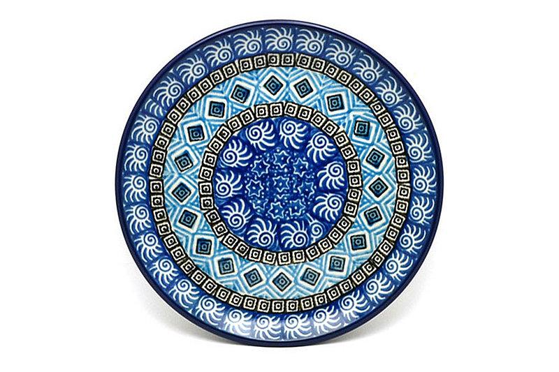 "Ceramika Artystyczna Polish Pottery Plate - Bread & Butter (6 1/4"") - Aztec Sky 261-1917a (Ceramika Artystyczna)"