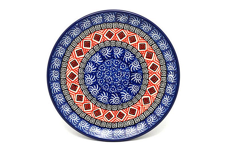 "Ceramika Artystyczna Polish Pottery Plate - Bread & Butter (6 1/4"") - Aztec Sun 261-1350a (Ceramika Artystyczna)"