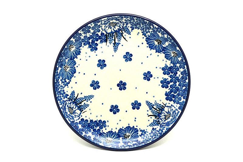 "Ceramika Artystyczna Polish Pottery Plate - Bread & Butter (6 1/4"") - Blue Bayou 261-1975a (Ceramika Artystyczna)"