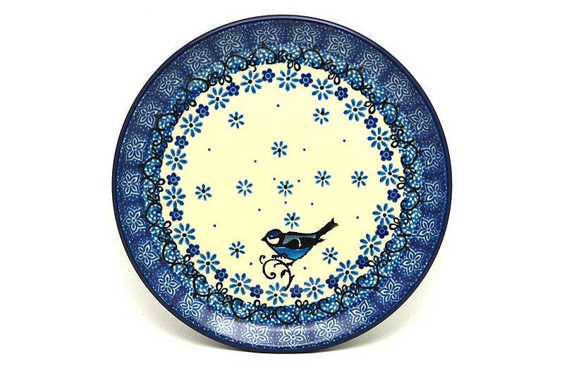"Ceramika Artystyczna Polish Pottery Plate - Bread & Butter (6 1/4"") - Bluebird 261-2529a (Ceramika Artystyczna)"