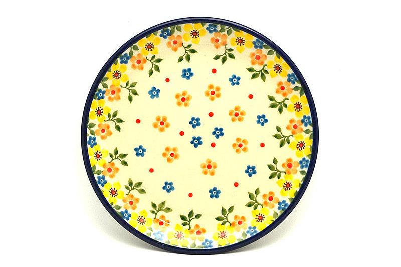 "Ceramika Artystyczna Polish Pottery Plate - Bread & Butter (6 1/4"") - Buttercup 261-2225a (Ceramika Artystyczna)"