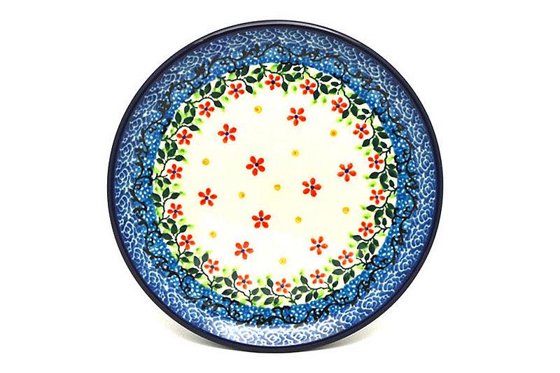"Ceramika Artystyczna Polish Pottery Plate - Bread & Butter (6 1/4"") - Cherry Jubilee 261-2284a (Ceramika Artystyczna)"