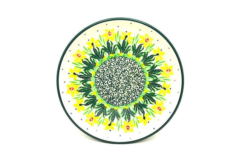 """Ceramika Artystyczna Polish Pottery Plate - Bread & Butter (6 1/4"""") - Daffodil 261-2122q (Ceramika Artystyczna)"""