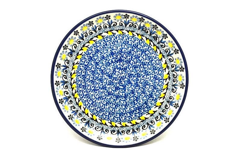 "Ceramika Artystyczna Polish Pottery Plate - Bread & Butter (6 1/4"") - Daisy Maize 261-2178a (Ceramika Artystyczna)"