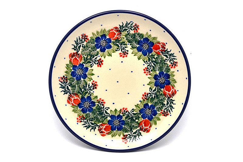 "Ceramika Artystyczna Polish Pottery Plate - Bread & Butter (6 1/4"") - Garden Party 261-1535a (Ceramika Artystyczna)"