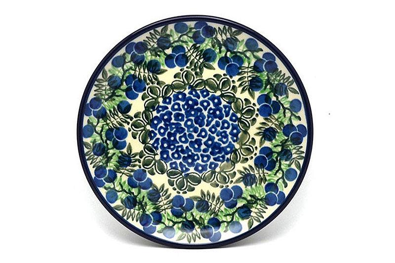 "Ceramika Artystyczna Polish Pottery Plate - Bread & Butter (6 1/4"") - Huckleberry 261-1413a (Ceramika Artystyczna)"