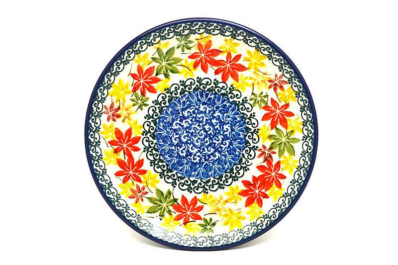 "Ceramika Artystyczna Polish Pottery Plate - Bread & Butter (6 1/4"") - Maple Harvest 261-2533a (Ceramika Artystyczna)"