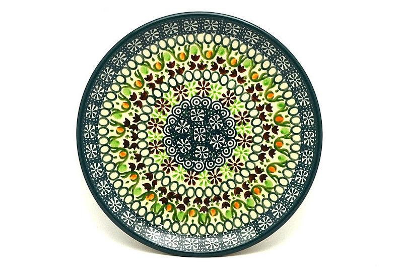 "Ceramika Artystyczna Polish Pottery Plate - Bread & Butter (6 1/4"") - Mint Chip 261-2195q (Ceramika Artystyczna)"