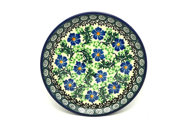 "Ceramika Artystyczna Polish Pottery Plate - Bread & Butter (6 1/4"") - Sweet Violet 261-1538a (Ceramika Artystyczna)"