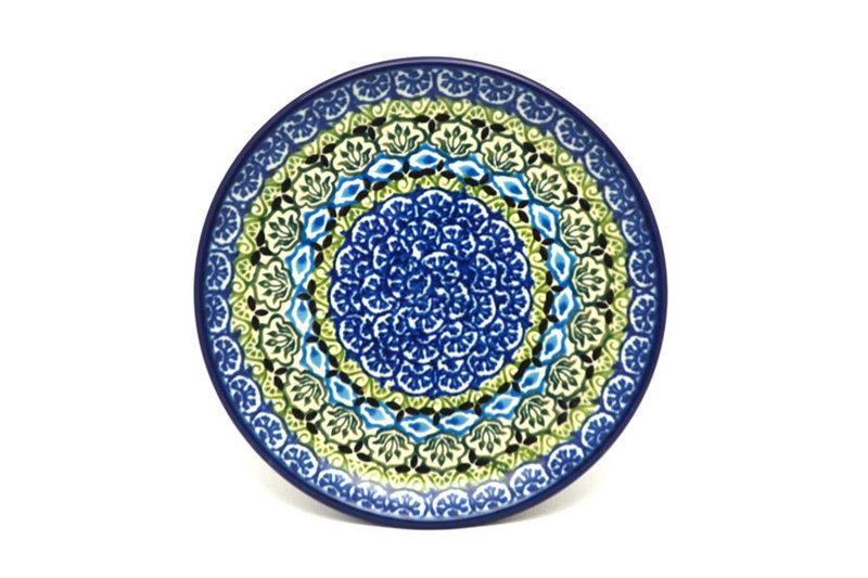 "Ceramika Artystyczna Polish Pottery Plate - Bread & Butter (6 1/4"") - Tranquility 261-1858a (Ceramika Artystyczna)"