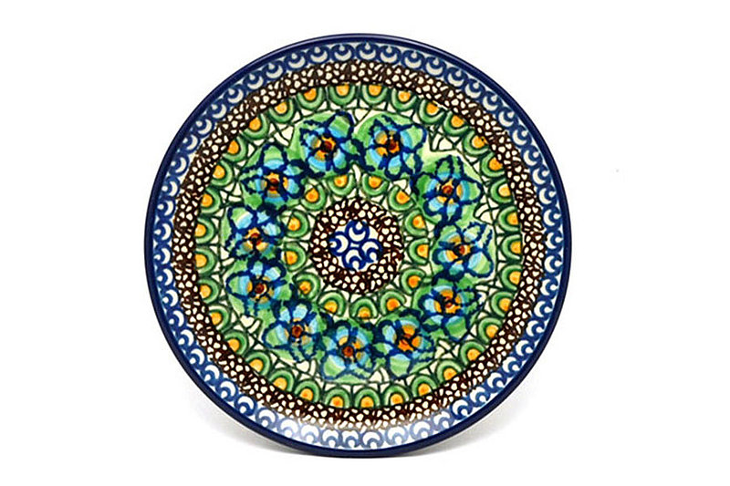 "Ceramika Artystyczna Polish Pottery Plate - Bread & Butter (6 1/4"") - Unikat Signature - U151 261-U0151 (Ceramika Artystyczna)"