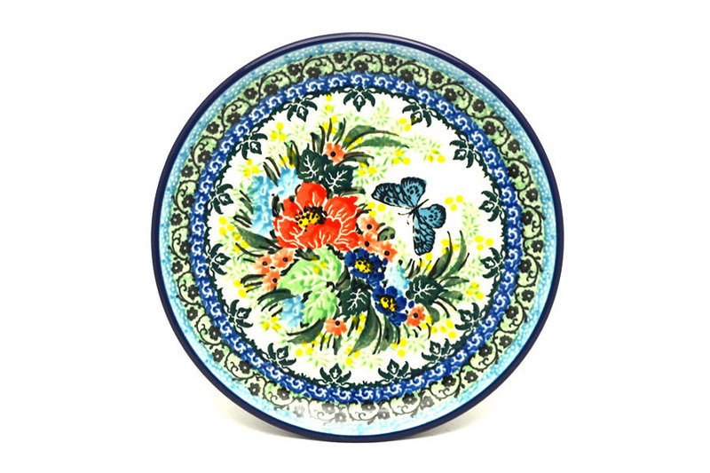 "Ceramika Artystyczna Polish Pottery Plate - Bread & Butter (6 1/4"") - Unikat Signature - U4553 261-U4553 (Ceramika Artystyczna)"