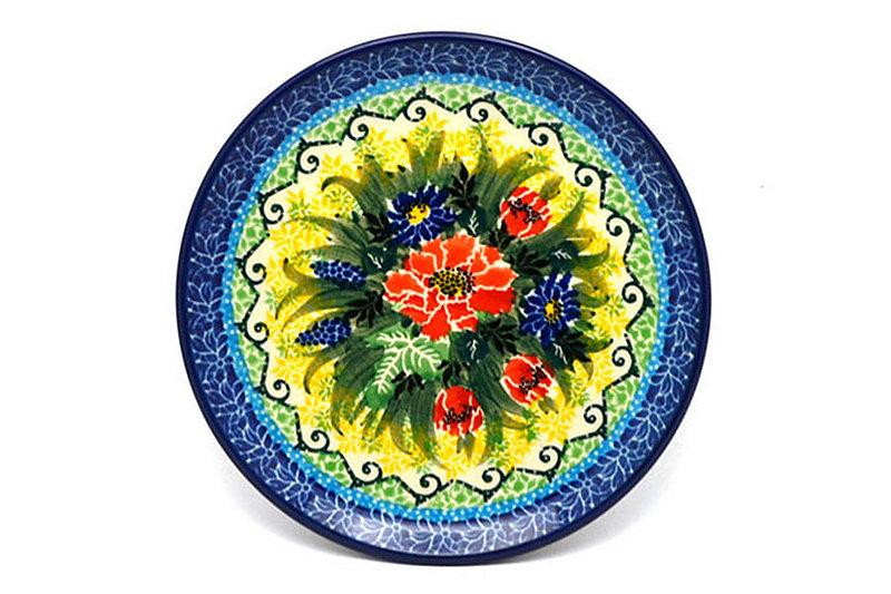"Ceramika Artystyczna Polish Pottery Plate - Bread & Butter (6 1/4"") - Unikat Signature - U4610 261-U4610 (Ceramika Artystyczna)"