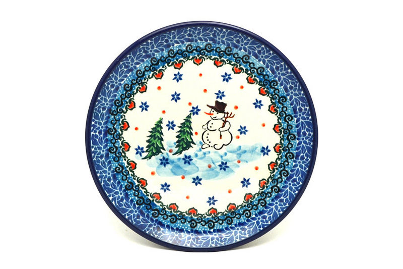 "Ceramika Artystyczna Polish Pottery Plate - Bread & Butter (6 1/4"") - Unikat Signature - U4661 261-U4661 (Ceramika Artystyczna)"