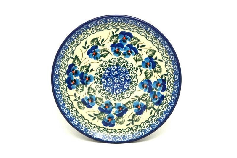 "Ceramika Artystyczna Polish Pottery Plate - Bread & Butter (6 1/4"") - Winter Viola 261-2273a (Ceramika Artystyczna)"